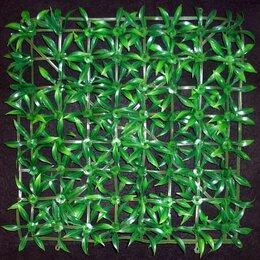 Искусственная трава - Трава искусственная полянка квадрат 25x25см, 0