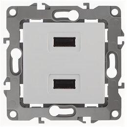 Зарядные устройства и адаптеры питания - 12-4110-01  ЭРА Устройство зарядное USB, 5В-2100мА, Эра12, белый, 0