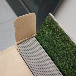 """Плитка ПВХ - Плитка """"Зелёная трава"""". Кварц-винил., 0"""