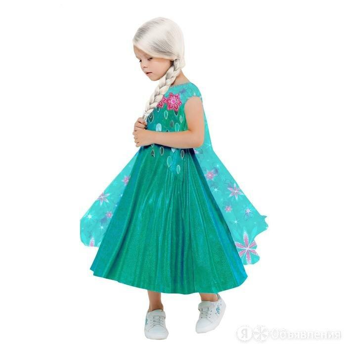 Карнавальный костюм 'Эльза зеленое платье', платье с накидкой, парик, р.32, р... по цене 3183₽ - Карнавальные и театральные костюмы, фото 0