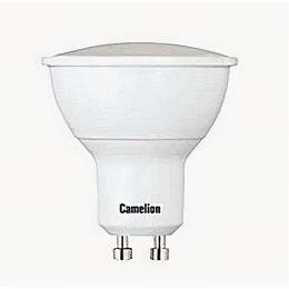 Лампочки - Лампа светодиодная FR 5Вт GU10 3000К 405Лм 50х55мм Camelion, 0