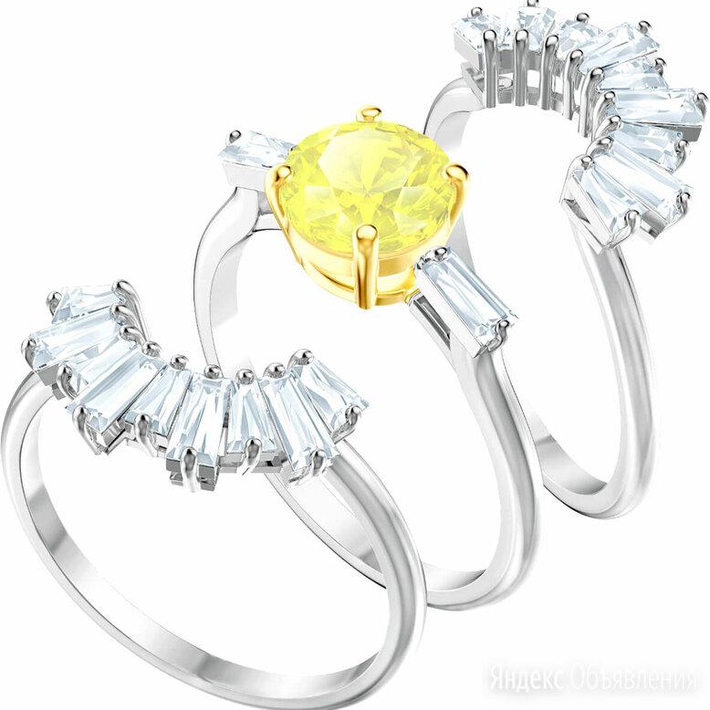 Наборное кольцо Swarovski 5482508_16-5 по цене 9990₽ - Кольца и перстни, фото 0