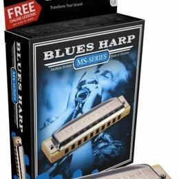 Губные гармошки - Губная гармошка диатоническая Hohner Blues Harp 532/20 MS C (M533016x), 0