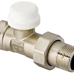 Аксессуары для радиаторов - Прямой термостатический клапан для радиатора 3/4 Valtec VT.032.N.05, 0