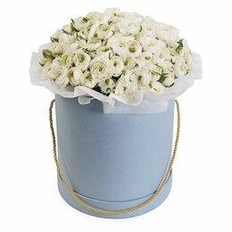 Цветы, букеты, композиции - Композиции в коробке «Настоящая леди» -XXL (60см), 0