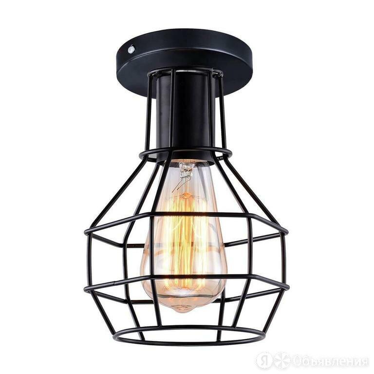 Потолочный светильник Arte Lamp SPIDER A1109PL-1BK по цене 1330₽ - Люстры и потолочные светильники, фото 0