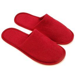 Домашняя обувь - Тапочки мужские, цвет бордовый, размер 42-45, 0