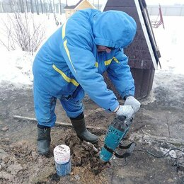 Комплектующие водоснабжения - Водоснабжение частного дома от скважины с насосом и кессоном, 0