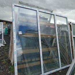 Окна - Окно, ПВХ Veka 82мм, 2550(В)х3020(Ш) мм, глухое, трехстворчатое, 2-кам стп, 0