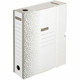 Расходные материалы - Короб архивный  75мм с клапаном OfficeSpace Standart плотный, белый до 700л (50), 0