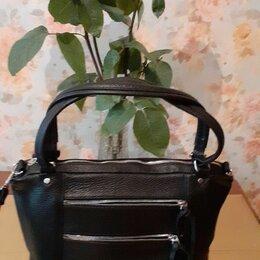 Сумки - Женская сумочка  цвет черный производство Россия  сумка новая цена 6500, 0