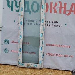 Окна - Балконная дверь, ПВХ Veka 58мм, 2250(В)х670(Ш) мм, поворотно-откидное, 0