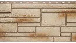 Фасадные панели - Панель Камень, Ракушечник, 1130х470мм,, 0