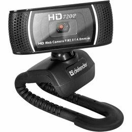 Веб-камеры - Веб-камера Defender G-lens 2597, 2 МП, 1280 х 720, HD720p, черная, 0