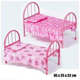 Аксессуары для кукол - 9342 кровать для кукол, 0