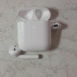 Наушники и Bluetooth-гарнитуры - Aple AirPods 2 беспроводные наушники беспроводная зарядка кейса, 0