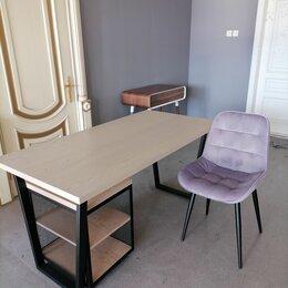 Компьютерные и письменные столы - Письменный стол с тумбой , 0