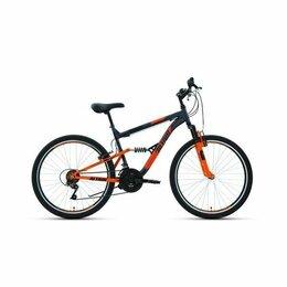 """Велосипеды - Горный велосипед 26"""" Altair MTB FS 26 18 ск Темно-серый/Оранжевый, 0"""