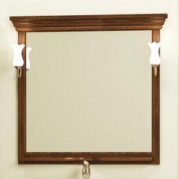Мебель - Зеркало Опадирис Риспекто 95x100, цвет орех антикварный, 0