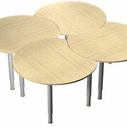 Столы - Стол «Луна» на регулируемых ножках, 0