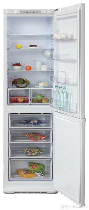 Холодильник Бирюса Б-M629S серый металлик (двухкамерный) по цене 27959₽ - Холодильники, фото 0