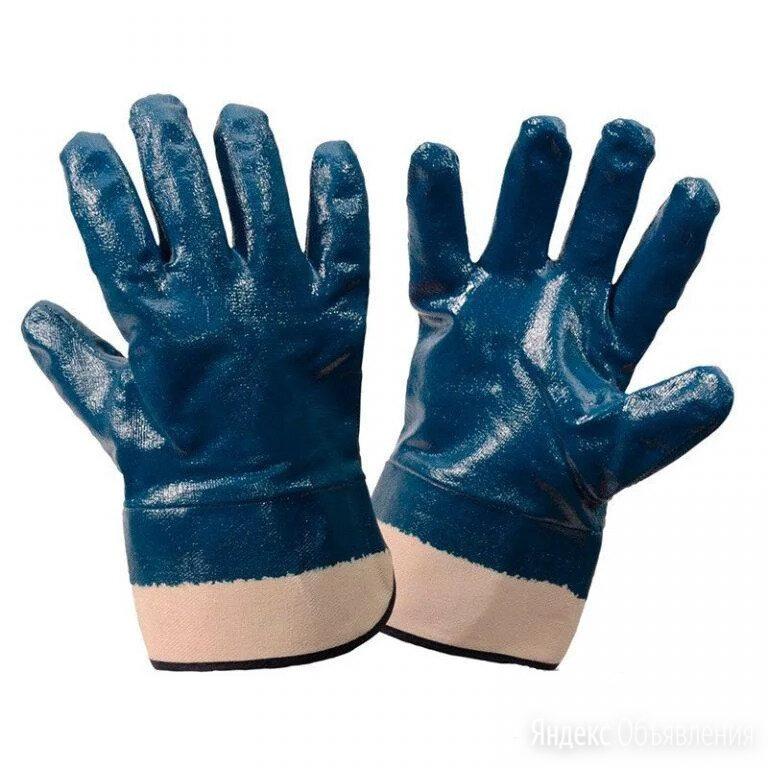 Перчатки рабочие прорезиненные по цене 40₽ - Средства индивидуальной защиты, фото 0
