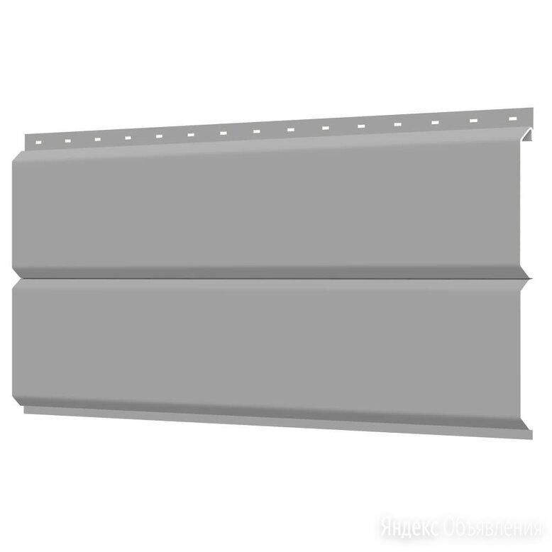 Сайдинг металлический ЕВРО-БРУС под брус RAL9006 Серебро по цене 296₽ - Сайдинг, фото 0