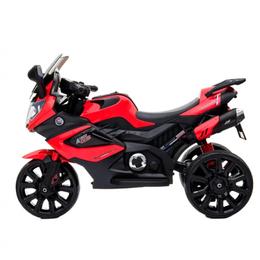 Велосипеды - Электромотоцикл тв168А красный акб 2х6V4,5Ah, 0