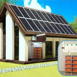 Солнечные батареи - Солнечная электростанция Комбинированный 5600 (3 фазы), 0