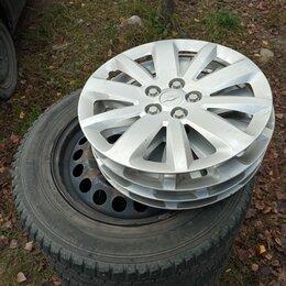Шины, диски и комплектующие - Комплект зимних колёс на Шевроле Круз, 0