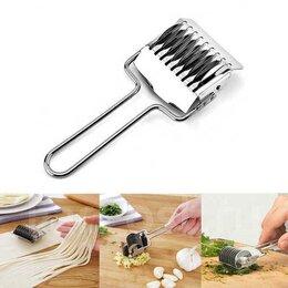 Посуда - Роликовый нож для нарезки лапши и зелени, 0