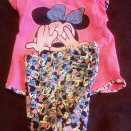 Домашняя одежда - Детские пижамы с микки маусом, 0