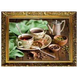 Рукоделие, поделки и сопутствующие товары - MILATO Алмазная мозаика «Кофейная идиллия» 29,5×20,5 см, 25 цветов, 0