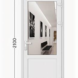 Входные двери - Дверь ПВХ Plafen входная 5 камерный профиль, белая, без монтажа, 0