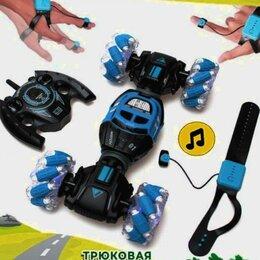 Радиоуправляемые игрушки -  радиоуправляемая дрифт машинка-перевертыш на пульте управления, 0