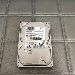 """Жёсткие диски и SSD - Жёсткий диск 3.5"""" Toshiba 1TB 7200rpm, 0"""