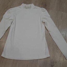 Рубашки и блузы - Новая трикотажная блузка для школы Снег, 0