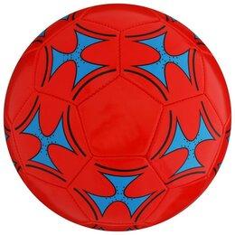 Мячи - Мяч футбольный, размер 5, 32 панели, PVC, 2 подслоя, машинная сшивка, 260 г, 0