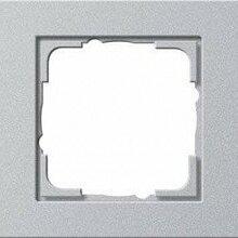 Кабели и разъемы - Рамка 5-постовая Gira E2 алюминий 021525, 0