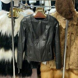 Куртки - Куртка кожаная р-р 40, 0