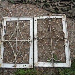 Сетки и решетки - Холодная ковка изделия из профильной трубы решетки, 0
