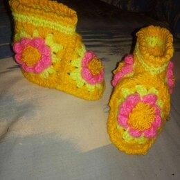 Обувь для малышей - Сапожки- пинетки. По стельке 10 см, 0