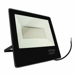Прожекторы - Прожектор светодиодный 100Вт 6500К 7600Лм черный IP65, 0