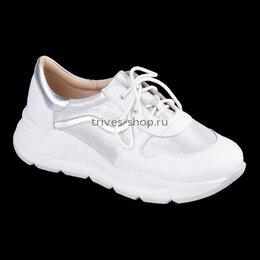 Кроссовки и кеды - Белые женские кроссовки, 0