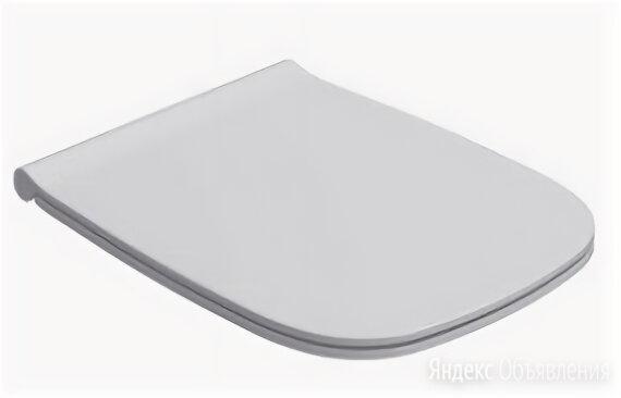 Сиденье для унитаза Globo Genesis с микролифтом, белое GN020BI по цене 16204₽ - Комплектующие, фото 0