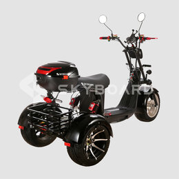 Мото- и электротранспорт - Электроскутер CityCoco Skyboard  trike br60 3000pro fast, 0