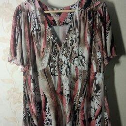 Блузки и кофточки - Шифоновая туника женская , 0
