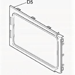 Аксессуары и запчасти для оргтехники - Накладка для дверцы микроволновой печи Panasonic (D5), 0