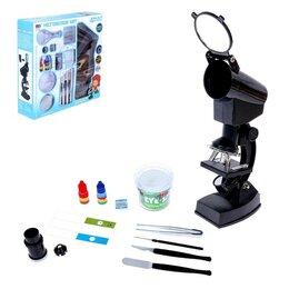 Наборы для исследований - Набор для изучения микромира «Микроскопик», 0