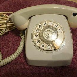 Проводные телефоны - Телефонный аппарат стационарный дисковый Weidmann, 0